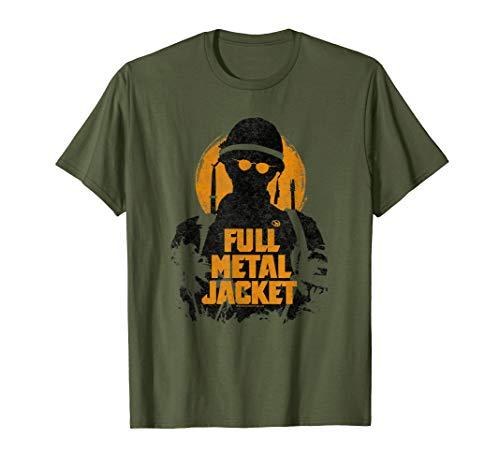 Full Metal Jacket Joker Silhouette T Shirt Full Metal Jacket Shirt