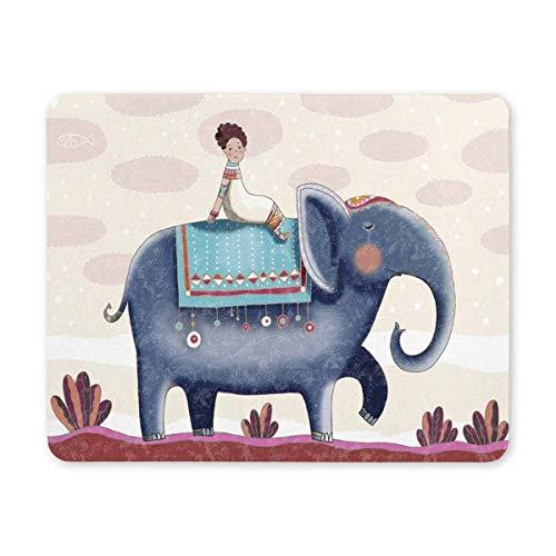 Luancrop La Gente y los Elefantes Viven en el Sur Impreso Alfombrilla...
