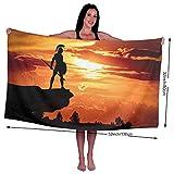 GSEGSEG Gseg Spartan Army Sun Dusk Roman Soldier Shield Hero 78,7 x 129,5 cm Microfibra Morbida Piscina Spiaggia Asciugamano da Bagno - Super Assorbente