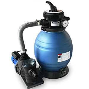 Système de filtration à sable pompe - 6 m³/H
