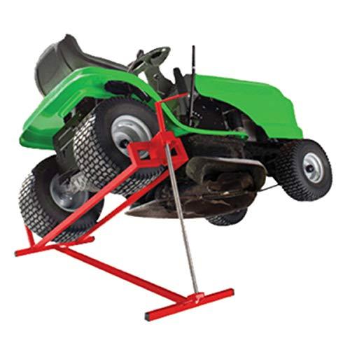 COSTWAY Dispositivo Elevador Tractores Plataforma Elevadora para Cortacésped de 400 KG Ajustable...