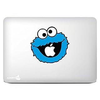 Adesiviamo Monster Cookie Apple Eating - MacBook Decal Sticker Aufkleber