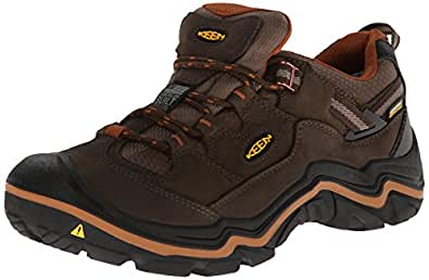 Keen Durand Low Wp M, Men's Low Trekking and Walking Shoes, Braun (CASCADE BROWN/GLAZED GI), 6 F UK