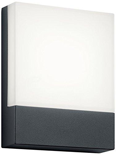 Trio Leuchten 227760142 - Lámpara empotrable de exterior, aluminio, 6W, color antracita