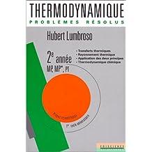 lumbroso thermodynamique gratuit pdf