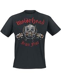 Motörhead Double Fist Camiseta Negro
