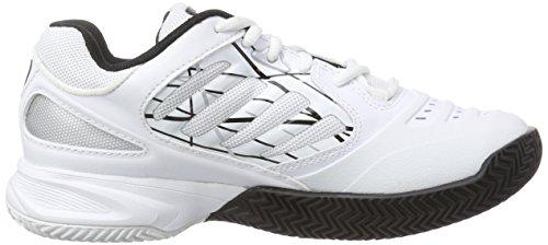 Wilson - Tour Vision Iv, Scarpe da tennis Donna Multicolore (Mehrfarbig (White/Silver/Black))