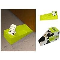 FANTASTIK Tope para Puerta con diseño de Vaca con Queso