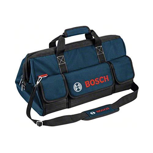 Bosch Professional 1600A003BJ Werkzeugtasche Gr.M, Schwarz, Blau