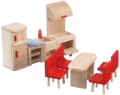 Imagen principal de Beeboo 32302  -  Muebles de cocina de madera para casa de muñecas