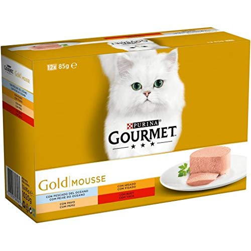 Purina Gourmet Gold Mousse Pack 12x 85GR