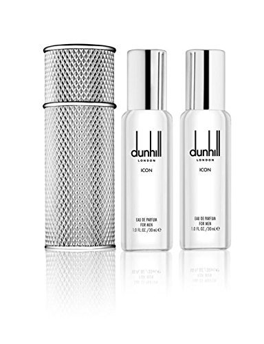 Dunhill London ICON Travel Spray Set 2 x 30ml (60ml) Eau De Parfum EDP by Dunhill