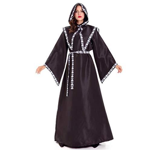 GBYAY Umhang Assistent Anime Cosplay Disfraz Halloween-Kostüme für Frauen Mujer disfraces Fantasie schwarz (Halloween Ideen 2019 Disfraces)
