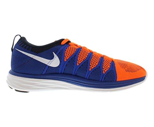 Nike Flyknit Lunar2, Scarpe sportive, Uomo Blue