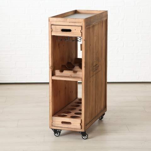 Home Collection Casa Cucina Arredamento Organizzazione Carrello Porta Bottiglie