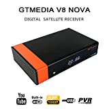 Docooler GT Media V8 Nova DVB-S2 Ricevitore TV Video Digitale Trasmissione Video Digitale HD 1080P Set top box Supporto WiFi Integrato H.265 per Cccam Newcam Youtube EU Plug
