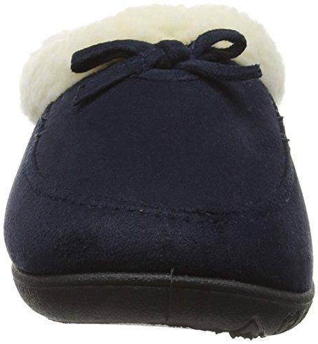 Padders Snug, Pantofole Donna Blu (24 Navy)