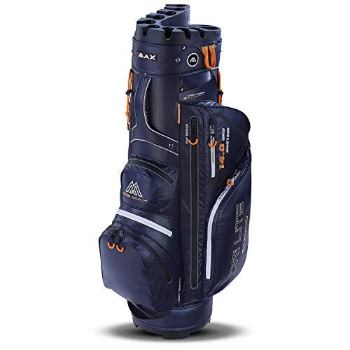 Big Max Dri Lite Silencio Cartbag - Wasserabweisende Golftasche dunkelblau