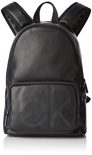 Klein Up Cmb Ck Round BackpackMochilas HombreNegroblack18x42x28 T Calvin H X OPZuXik