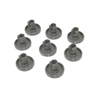 AEG Lower Basket Wheel Kit for AEG Dishwasher, Grey, Pack of 8