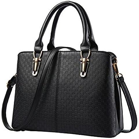 Emotionlin Señoras De Las Mujeres Bolsos Imitación Cuero Del Diseñador Shopper Bolsa Hombro Bolsa De Asas