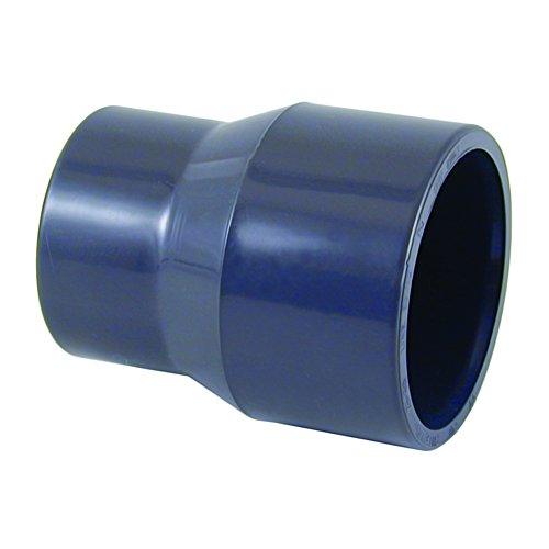 PVC - U Reduktion lang konisch 50-40mm x 32 mm PN16 (Reduktion Muffe)