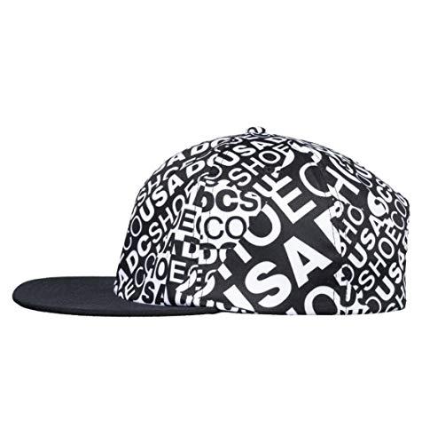 Imagen de dc apparel vertigo cap, hombre, black, 1sz alternativa