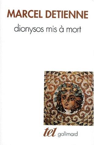 Dionysos mis  mort