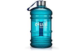 Dual Bottle/Water Jug/2,2L/Eau/bouteille/Idéal pour les besoins Eau quotidienne/Idéal pour le sport, Fitness et bouteille d'eau/Gallon/Water Gallon/Sport/Eau Gallon/Eau Gallon/dose d'eau optimale Pendant la journée