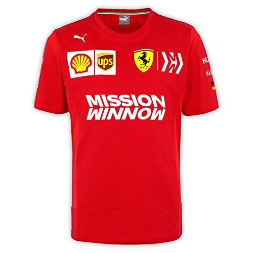 Master Lap Camiseta Scuderia Ferrari Sebastian Vettel L
