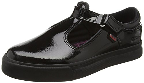 Kickers Tovni T Junior, Baskets Basses Fille Noir