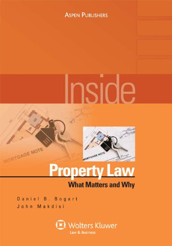 Inside Property Law: What Matters and Why (Inside Series)