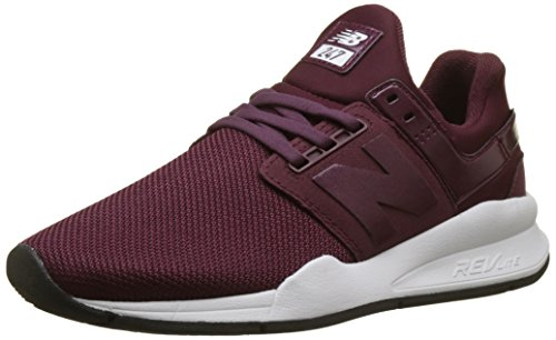 New Balance Damen 247v2 Sneaker, Rot (Nb Burgundy Metallic Ua), 38 EU