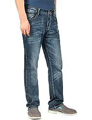 iLoveSIA® Herren Jeanshosen denim Straight Fit Jeans
