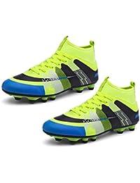 RoadRomao Calzado Deportivo de Tobillo Alto Calzado Deportivo Resistente al Desgaste para Entrenadores de fútbol