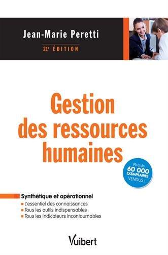 Gestion des ressources humaines par Jean-Marie Peretti