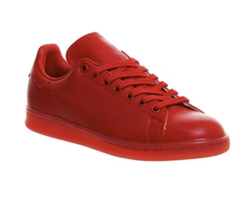 Adidas Stan Smith Adicolour Uomo Sneaker Rosso Red