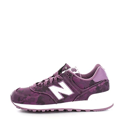 New Balance Wl574, Bottes Classiques femme Multicolore (Asteroid/asteroid Print)