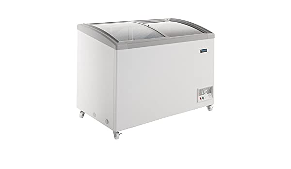 Minibar Kühlschrank Polar : Gefrierschrank premiumqualität mit glastüren l polar