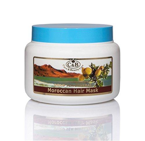 C & B Mer Morte du Maroc Soin des Cheveux Masque à l'huile d'argan 250 ml/239,6 gram Aragan Spa