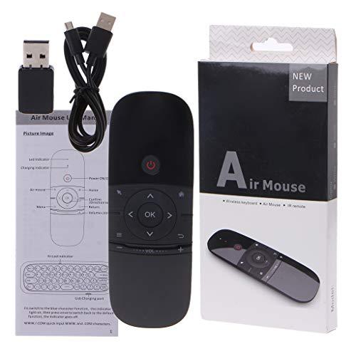 ir Mouse Wireless Tastatur 6-Achsen Motion Sense IR Learning Fernbedienung für Smart TV Box Laptop PC ()