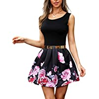 Skirt High Waist a-Line Bright Velvet Elascity Casual Party Wear Xiuinserty Skater Skirt for Women Autumn Metallic Glitter Gradient Color Midi Long Pleated