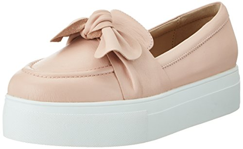 415SeyLh wL - Buffalo London Damen 216-3442 Nappa Leather Slipper, Mehrfarbig (Pink 01), 39 EU
