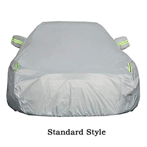 AWY-YFQH Copriauto Pieno Compatibile con Mercedes-Benz Copriauto Classe E Coperchio for Tutte Le Stagioni Impermeabile Antigelo Antipolvere Impermeabile Antipioggia Protezione Anti-UV (Size : E300L)