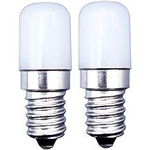 MZMing [2 Pack]E14 LED Bulbo 1.5W Máquina de Coser Bombilla de Reemplazo