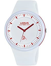 Lorus Watches Unisex - Armbanduhr Kids Analog Quarz Kautschuk RRX37EX9