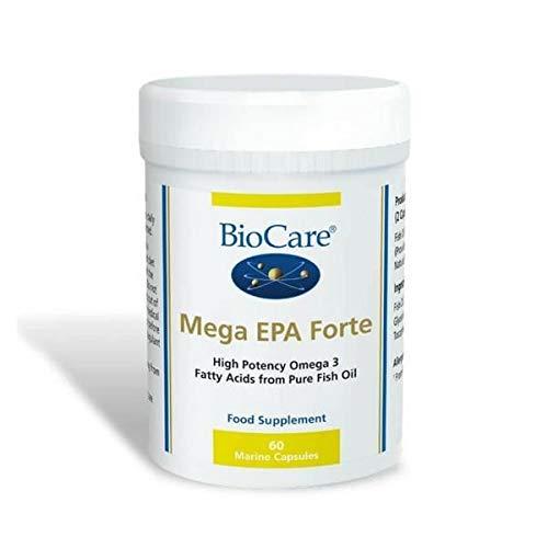 Biocare | Mega EPA (EPA/DHA fish oil concentrate) 60 caps | 2 x 60 capsule (DE) -
