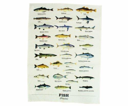 Ecologie Multi Species Fish Geschirrtuch mit Fisch-Motiven