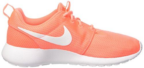 Nike Wmns Roshe One, gymnastique femme Naranja (Bright Mango / White)