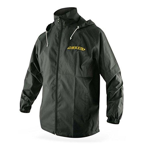 Acerbis Regenjacke Rain Coat Schwarz
